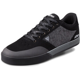 Afton Shoes Keegan Zapatillas pedal plano Hombre, black/heathered